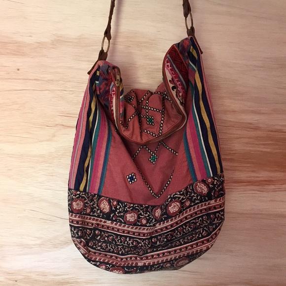 Free People Handbags - Free people Indian summer hobo bag